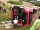 Khởi tố bị can tài xế xe khách chạy ẩu làm xe lật, 2 chị em tử vong