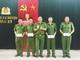 Khen thưởng 4 tập thể có thành tích xuất sắc trong đấu tranh, phòng chống tội phạm