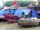 Tàu thuyền ở Nghệ An tiếp tục nằm bờ vì áp thấp nhiệt đới đang vào Biển Đông