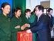 Phó Chủ tịch UBND tỉnh Huỳnh Thanh Điền chúc Tết công nhân TP Vinh