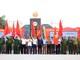 Đội tuyên truyền của 11 tỉnh xuất quân tại Km số 0 đường Hồ Chí Minh