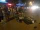 Đi bộ qua đường ở TP Vinh, 1 phụ nữ nguy kịch do bị xe máy tông văng 5m
