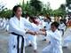 Chuyện hiếm: Nữ sinh lớp 12 ở Nghệ An mở lớp dạy võ miễn phí