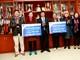 TCT Hóa dầu Petrolimex hỗ trợ 100 triệu đồng cho gia đình cầu thủ Văn Đức, Xuân Mạnh