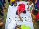 Trẻ em 'xứ Nhút' náo nức vào hội trò chơi dân gian