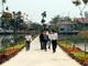 """Nghệ An: Rực rỡ """"con đường hoa"""" ở xã Bác Hồ về thăm"""