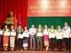 Trao bằng tốt nghiệp tiếng Việt cho lưu học sinh Lào