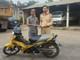 Nhận lại xe máy sau hơn 1 năm mất trộm ngay trước sân nhà