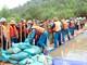 Gần 500 người diễn tập phòng chống bão lụt tìm kiếm cứu nạn ở Yên Thành