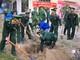 Bộ đội biên phòng Nghệ An trồng hơn 1.000 cây xanh đầu Xuân Kỷ Hợi