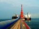 Nghệ An: Xuất khẩu 220.000 tấn xi măng và clinker qua cảng Vissai - Nghi Thiết