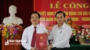 Bổ nhiệm Phó Giám đốc Sở Lao động - Thương binh và Xã hội Nghệ An
