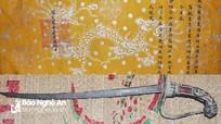 Về 2 bản sắc phong thời Nguyễn cùng kiếm gỗ cổ ở miền Tây Nghệ An