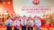 Bế mạc Đại hội đại biểu Đảng bộ thị xã Hoàng Mai nhiệm kỳ 2020 - 2025