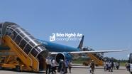 Hủy nhiều chuyến bay đến Vinh do thời tiết xấu