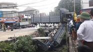 Nghệ An: Xe tải bị đâm rơi xuống kênh nước trong đêm, 1 người tử vong