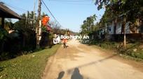 Nghệ An: Đường hoàn thành 8 năm, dân chưa nhận hết tiền đền bù