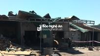 Nghệ An: Nổ nồi hơi sản xuất bánh đa, chị tử vong, em trai bị thương nặng