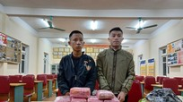 Nghệ An: Bắt 3 đối tượng thu giữ 12 bánh hêroin, 54.000 viên ma túy