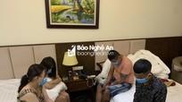 Bắt quả tang 4 thanh thiếu niên bay lắc trong khách sạn ở TP. Vinh