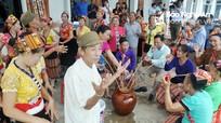 Đồng bào dân tộc Thái vui ngày hội Đại đoàn kết dân tộc