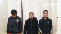 3 thanh niên cướp giật, chia tài sản rồi trốn khỏi địa phương