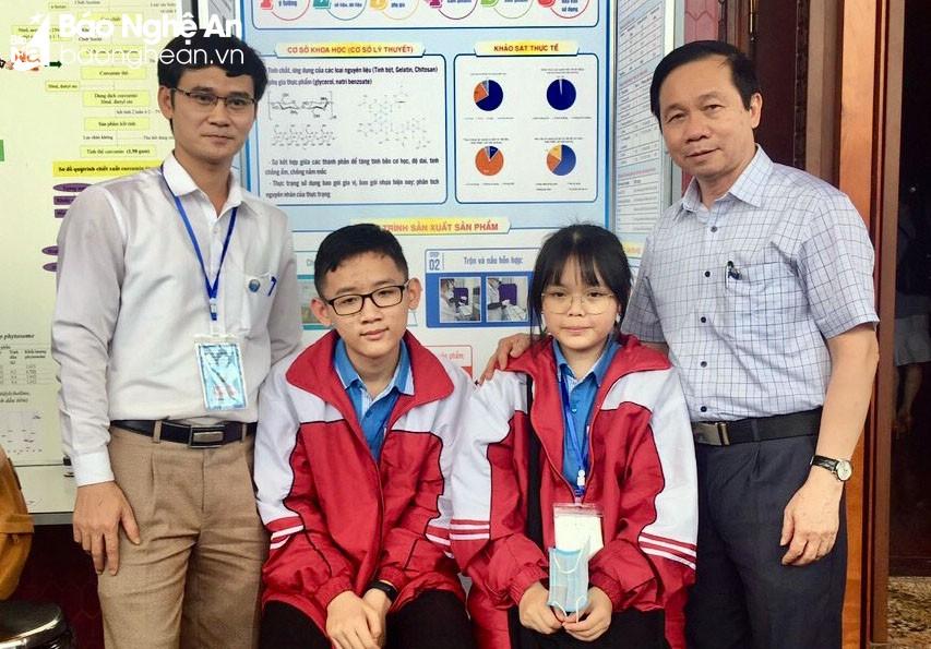 Cuộc thi Khoa học kỹ thuật cấp quốc gia năm học 2020-2021, học sinh THCS Nghệ An giành 2 giải Tư, học sinh THPT Chuyên Đại học Vinh giành 2 giải Tư