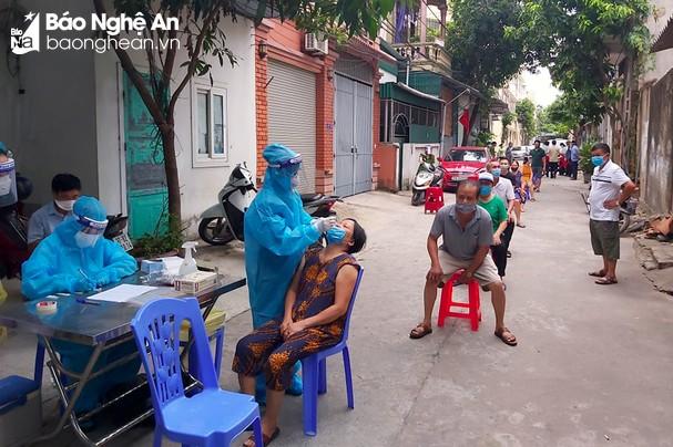 Sáng 27/10/2021, Nghệ An ghi nhận 21 ca nhiễm mới Covid-19, trong đó có 4 ca cộng đồng
