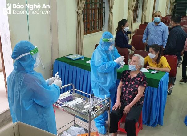 Sáng 20/10/2021, Nghệ An ghi nhận 10 ca nhiễm mới Covid-19 tại 5 địa phương
