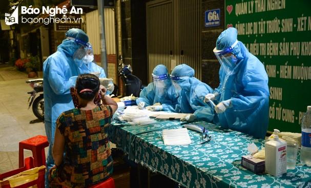 70 trường hợp F1 của bệnh nhân Covid-19 ở phường Hưng Dũng (TP.Vinh) phân tán tại nhiều địa phương