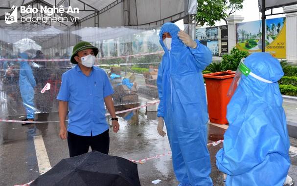 Chiều 13/10/2021, Nghệ An ghi nhận 02 ca nhiễm mới Covid-19 tại Kỳ Sơn và Quỳ Hợp