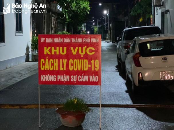 Sáng 15/10/2021, Nghệ An ghi nhận 8 ca nhiễm mới Covid-19, trong đó có 3 ca cộng đồng