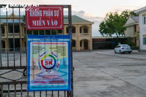 Sáng 22/9/2021, Nghệ An có 1 trường hợp F1 dương tính với Covid-19