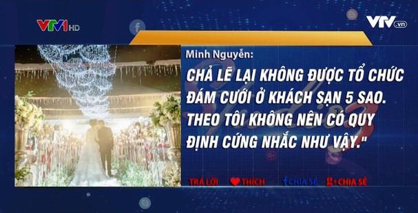 Hà Nội yêu cầu cán bộ không tổ chức cưới ở khách sạn 5 sao - ảnh 1