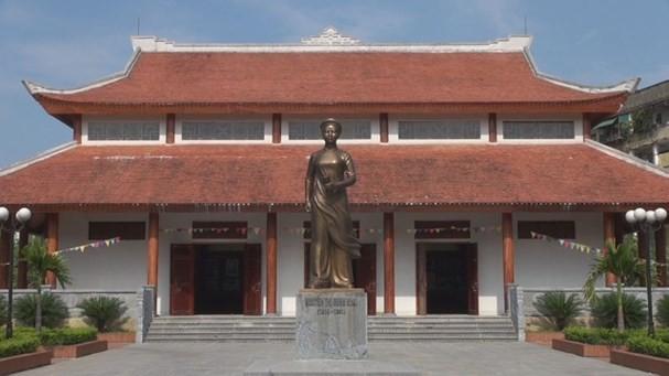 Nhà lưu niệm đồng chí Nguyễn Thị Minh Khai, ảnh tư liệu