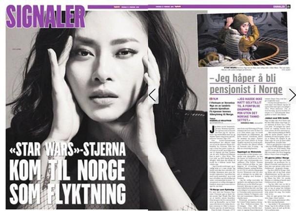 Ngô Thanh Vân xuất hiện trên trang bìa tạp chí hàng đầu Na Uy - ảnh 1