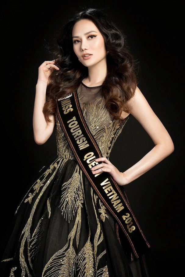 Hoa hậu Đông Nam Á Diệu Linh dự thi Nữ hoàng Du lịch Quốc tế 2018 ảnh 2