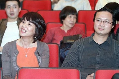 Vợ chồng MC Diễm Quỳnh