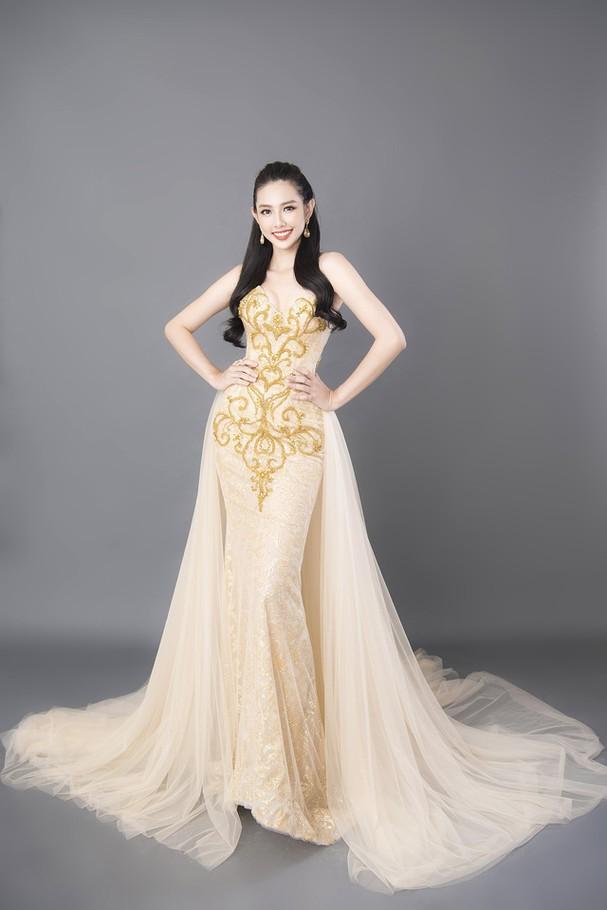 Thùy Tiên khoe sắc vóc chuẩn từng centimet trong bộ hình dạ hội mới - Ảnh 8.
