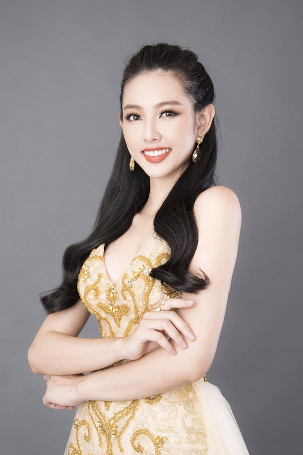Thùy Tiên khoe sắc vóc chuẩn từng centimet trong bộ hình dạ hội mới - Ảnh 7.