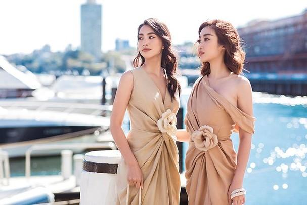 Hoa hậu Mỹ Linh, Tiểu Vy khoe nhan sắc thanh xuân rực rỡ ở Sydney - ảnh 2
