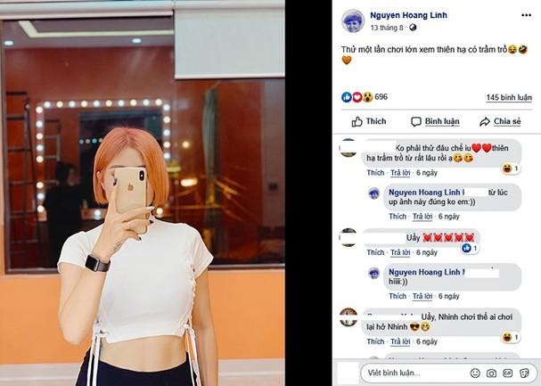 Loại ảnh sexy mới của MC Hoàng Linh gây tranh cãi - ảnh 3