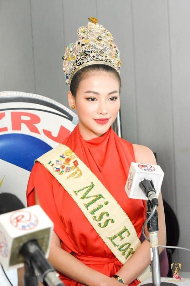 """Hoa hậu Trái đất Phương Khánh đẹp """"hút hồn"""" phủ sóng truyền thông Philippines - Ảnh 3."""