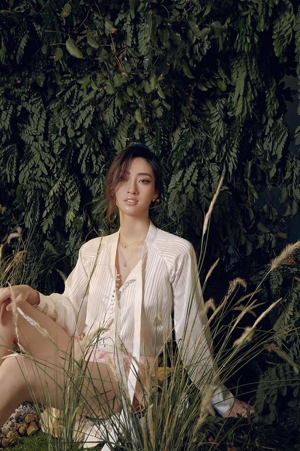 Lương Thùy Linh chia sẻ khát vọng tiếp tục đi thi quốc tế, tung bộ ảnh mới cực gợi cảm - ảnh 4