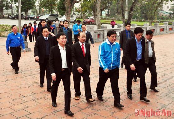 Trung ương Đoàn tổ chức dâng hoa, dâng hương tại Khu di tích Kim Liên - ảnh 5