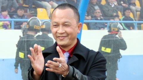 """Chủ tịch CLB Than Quảng Ninh, Phạm Thanh Hùng: """"Lên đỉnh nhờ may, chưa hay đừng nghĩ vô địch!"""""""