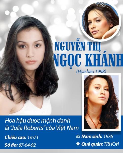 Infographic: Vẻ đẹp hút hồn của 14 hoa hậu Việt Nam - 6