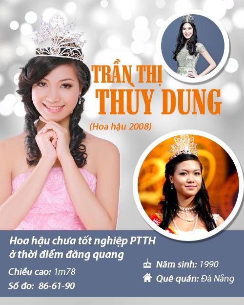 Infographic: Vẻ đẹp hút hồn của 14 hoa hậu Việt Nam - 11
