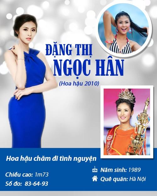 Infographic: Vẻ đẹp hút hồn của 14 hoa hậu Việt Nam - 12