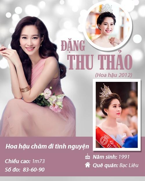 Infographic: Vẻ đẹp hút hồn của 14 hoa hậu Việt Nam - 13